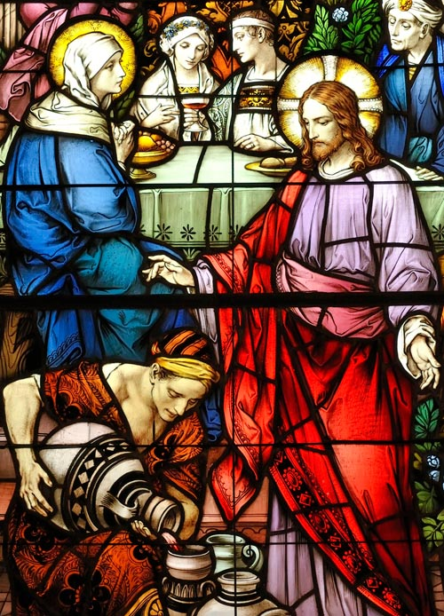 Stained Glass - The Wedding at Cana